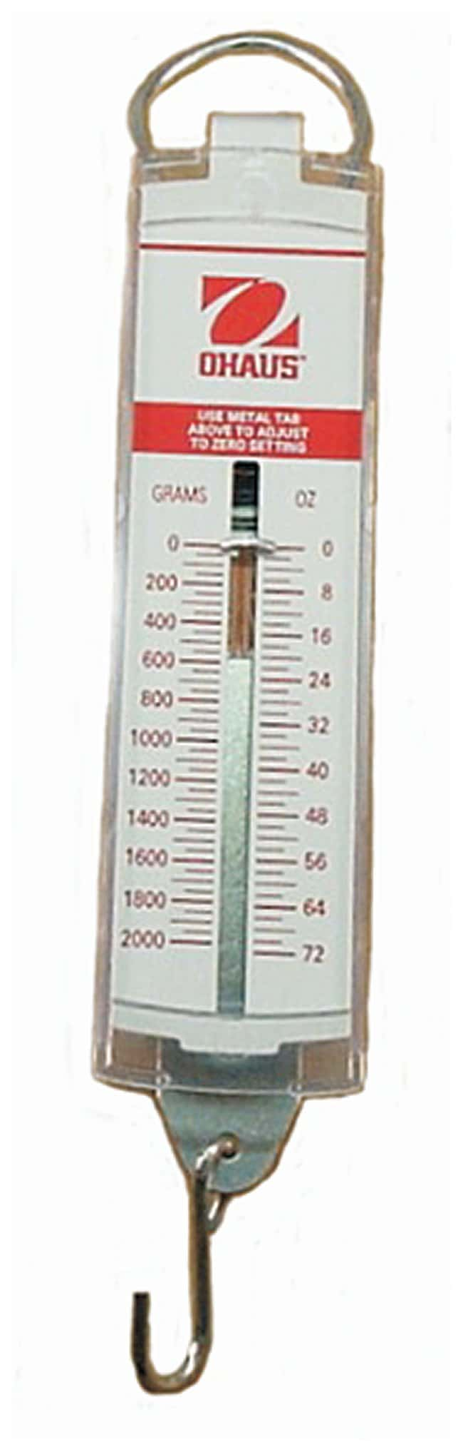 OHAUS Pull-Spring Scales:Healthcare:General Laboratory Equipment for Laboratory Spring Balance  177nar