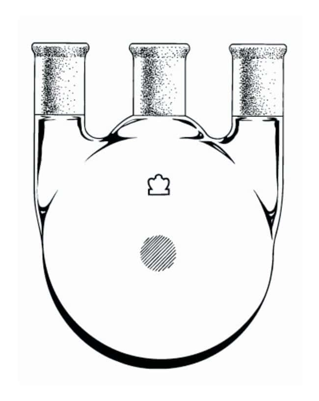 DWK Life Sciences Kimble™ Kontes™ Distilling Three Neck Round Bottom Heavy Wall Flasks