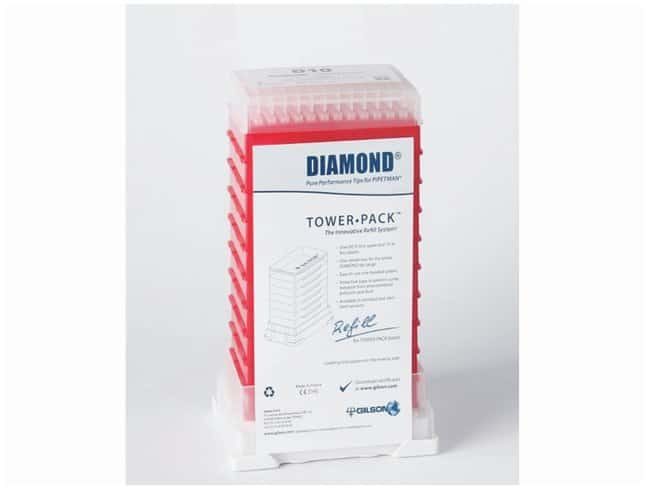 Gilson™PIPETMAN™ TOWERPACK™ Refill System For D10 0.1 - 10μL pipet tips; Autoclavable Products
