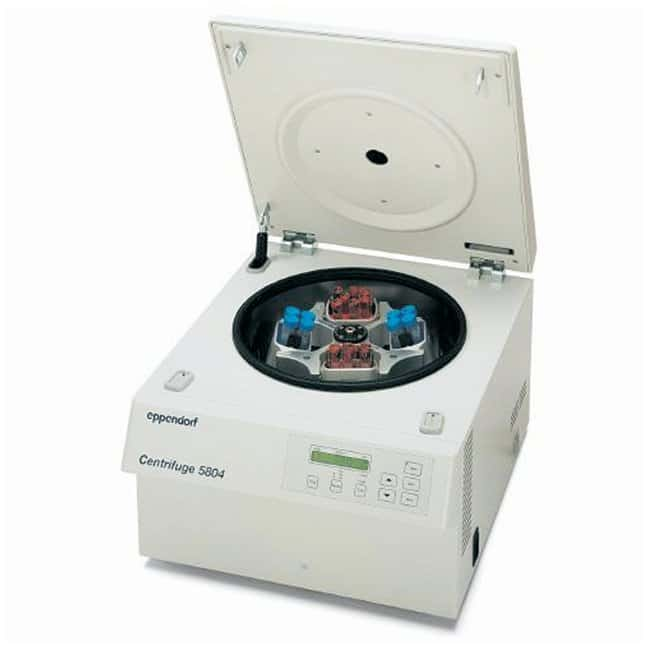 Eppendorf 5804 Series Centrifuge with Rotor Packages  Model 5804 centrifuge,