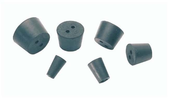 Fisherbrand™ Two-Hole Rubber Stoppers