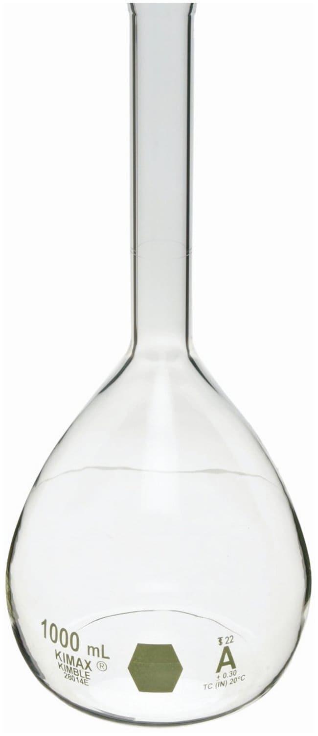 DWK Life SciencesKimble KIMAX Brand Colorware Volumetric Class A Flasks:Flasks:Volumetric