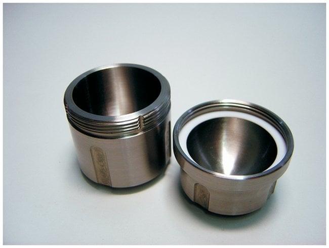 RETSCHMolinos mezcladores MM 400: Jarras de molienda Tarro de molienda, tapón de rosca de acero inoxidable, 50ml Ver productos