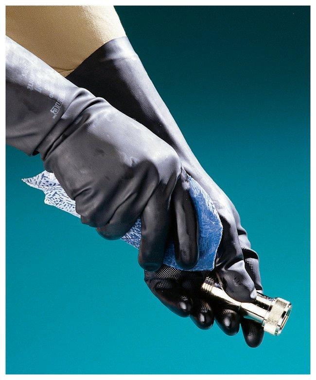 Ansell Unsupported Neoprene Gloves Flock-Lined; Size: 8:Gloves, Glasses