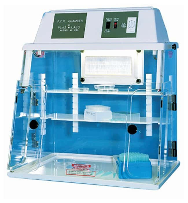 Plas Labs Model 825 PCR Chamber UV Chamber with HEPA Filter:Fume Hoods