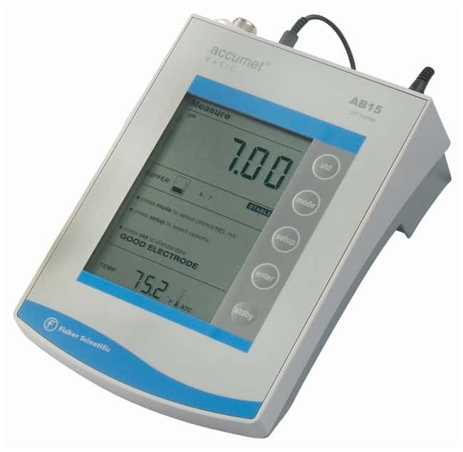 fisherbrand accumet ab15 basic and biobasic ph mv c meters thermometers rh fishersci com Accumet pH Probes Accumet Ab15 Plus Manual