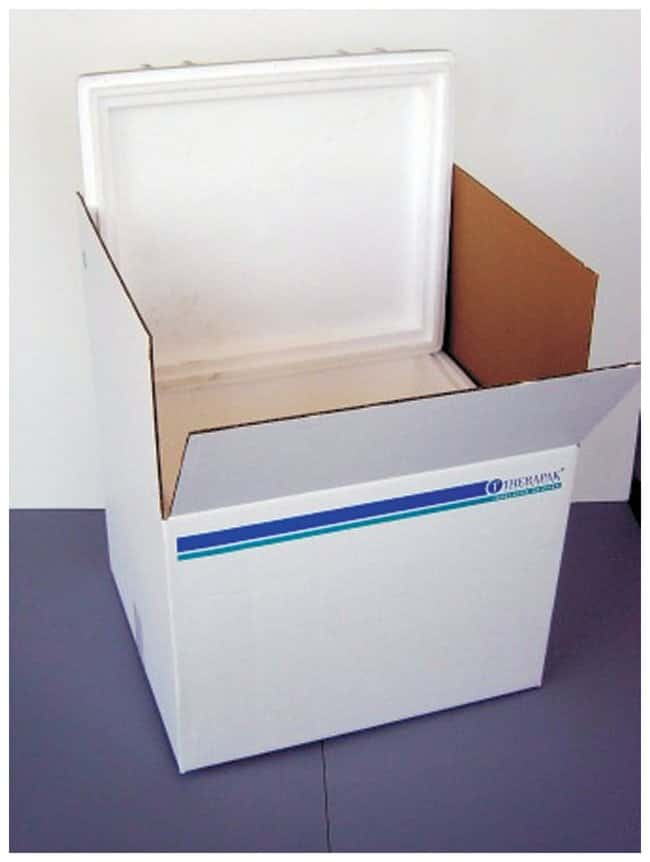 Therapak EPS (Expanded Polystyrene) Insulated Shippers:Racks, Boxes, Labeling