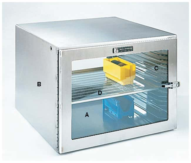 Terra Universal Shelves for SmartDesiccator Benchtop Storage Systems Perforated:Gloves,