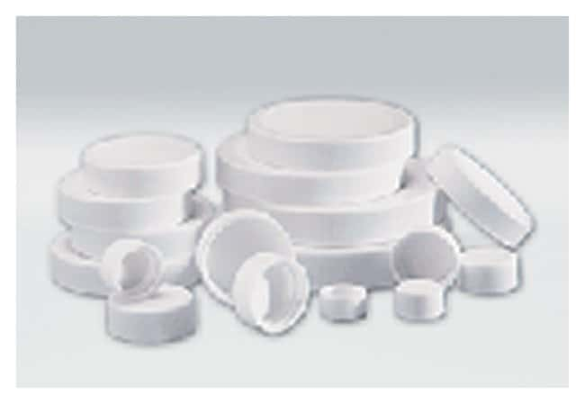 DWK Life SciencesWheaton™ White Polypropylene Caps With PTFE Faced Foamed Polyethylene Liner 15-425 cap finish products
