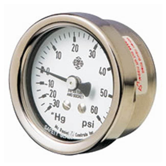 RestekReplacement Combination Vacuum/Pressure Gauges 30 in. to 15 psig:Process