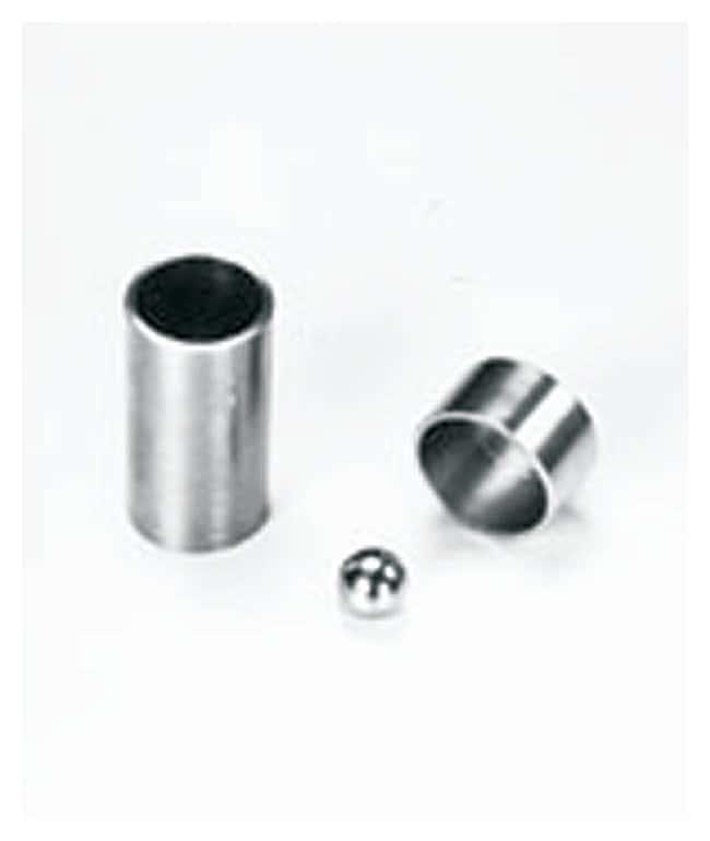 SPEX™ SamplePrep8000 Series Mixer/Mill™ Accessories Vial sets; Hardened steel; 12.7 x 25.4mm SPEX™ SamplePrep8000 Series Mixer/Mill™ Accessories