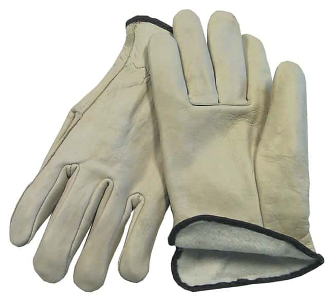 Fisherbrand™ Premium Insulated Leather Driver's Gloves: Thermal Lined