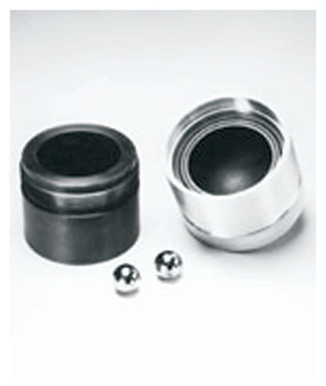 SPEX™ SamplePrep8000 Series Mixer/Mill™ Accessories Vial sets; Round-end hard steel vial set; 60.3 x 76.2mm SPEX™ SamplePrep8000 Series Mixer/Mill™ Accessories