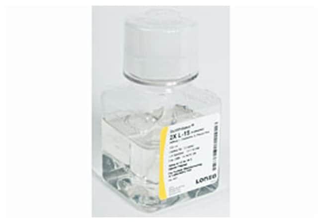 Lonza BioWhittaker L-15 (Leibovitz) Medium:Cell Culture:Cell Culture Media