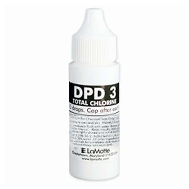 LaMotte DPD Free Chlorine Reagent Refills  DPD 3, 30mL:Thermometers, pH