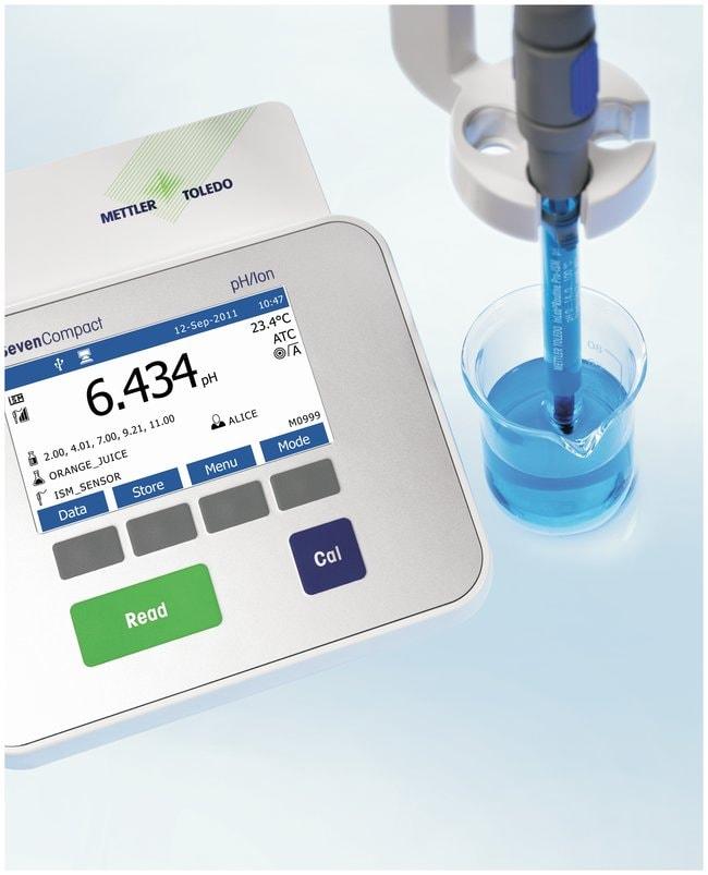 Mettler Toledo™S220 SevenCompact™ pH/Ion Benchtop Meter