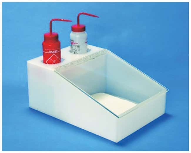 S-CurveWiper Dispensers Acrylic; Size: 18D x 12.5W x 8 in.H;  For 12 x