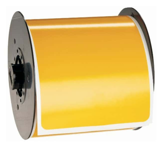 BradyBBP Blank Yellow Pre-Cut Blank Sign Headers:Facility Safety and Maintenance:Labels
