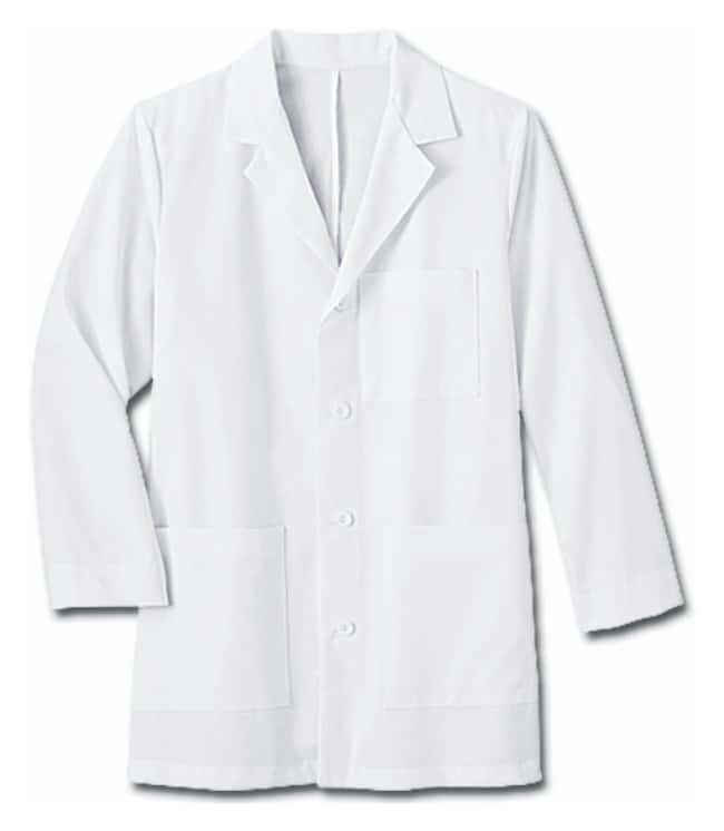White Swan™ Meta Men's 34 Inch Mid-Length Lab Coat