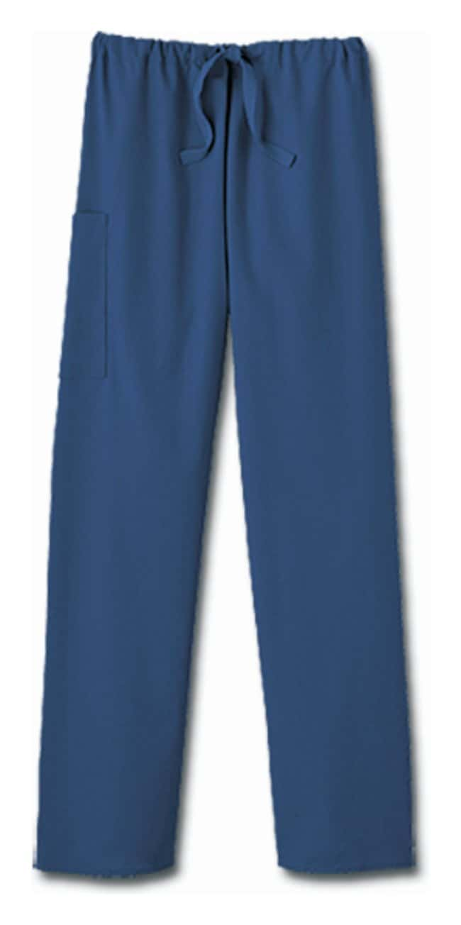White Swan fundamentals Unisex Navy Blue Drawstring Scrub Pants Navy blue;