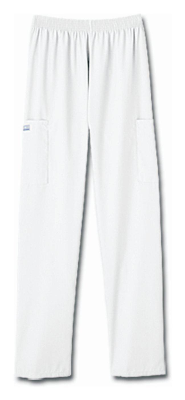 White Swan fundamentals Ladies' White Cargo Two Pocket Scrub Pants White;