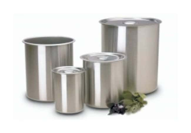 Polar Ware™ Bain Marie Stainless Steel Containers