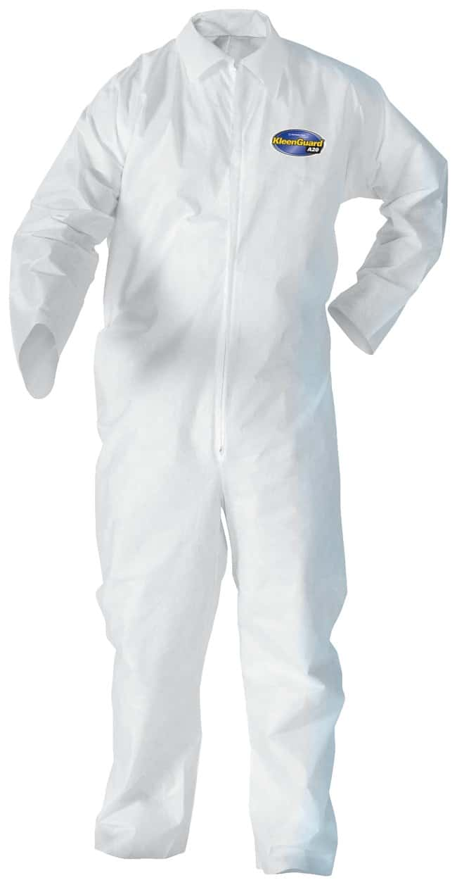 Kimberly-Clark Professional™ KleenGuard™ A20 Breathable Particle Protection Coveralls: Open Wrists and Ankles
