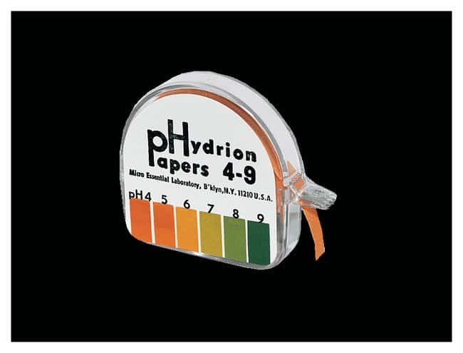 Micro Essential LabSingle-Roll Hydrion pH Test Paper, With Chart pH range: