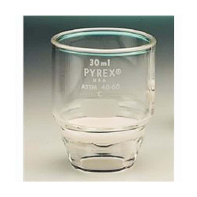 PYREX Gooch Type Filtering Crucibles :Beakers, Bottles, Cylinders and Glassware:Crucibles
