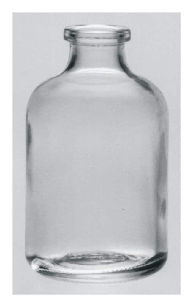 DWK Life Sciences Kimble  KG-35 Borosilicate Glass Serum Bottle, Aluminum Seal without Closure