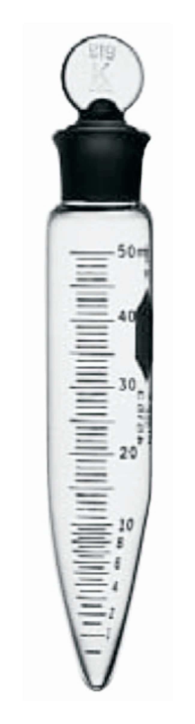 Kimble™KIMAX™ Zentrifugenröhrchen mit Graduierung 50ml; mit Glasstopfen Centrifuge Tubes