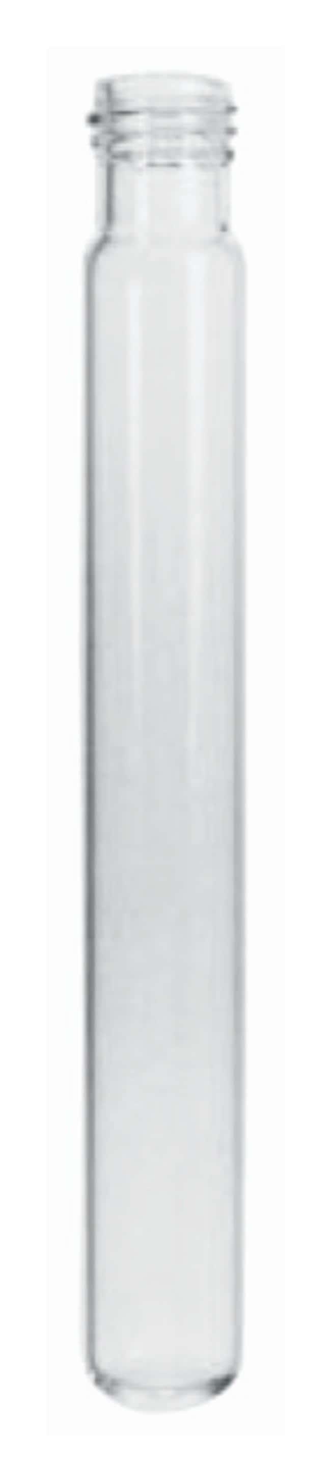 Fisherbrand™Einweg-Röhrchen aus Borosilikatglas mit Gewinde Without marking spot; O.D. x L: 13 x 100mm Fisherbrand™Einweg-Röhrchen aus Borosilikatglas mit Gewinde