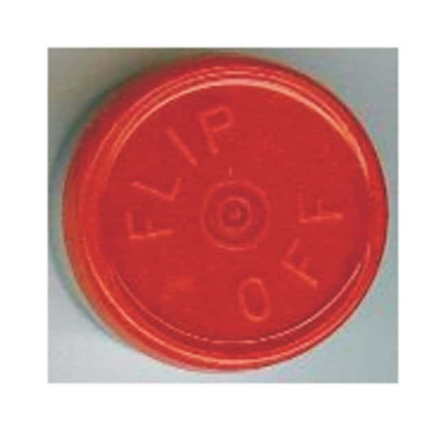 DWK Life Sciences Kimble Kontes Flip-Off Button-Top Aluminum Seals, Color