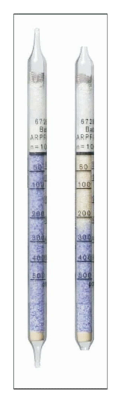 Dräger™Tubos de detección a corto plazo: tubos de ácido clorhídrico Hydrochloric Acid 50/a; Measuring Range: 50-5000ppm Dräger™Tubos de detección a corto plazo: tubos de ácido clorhídrico