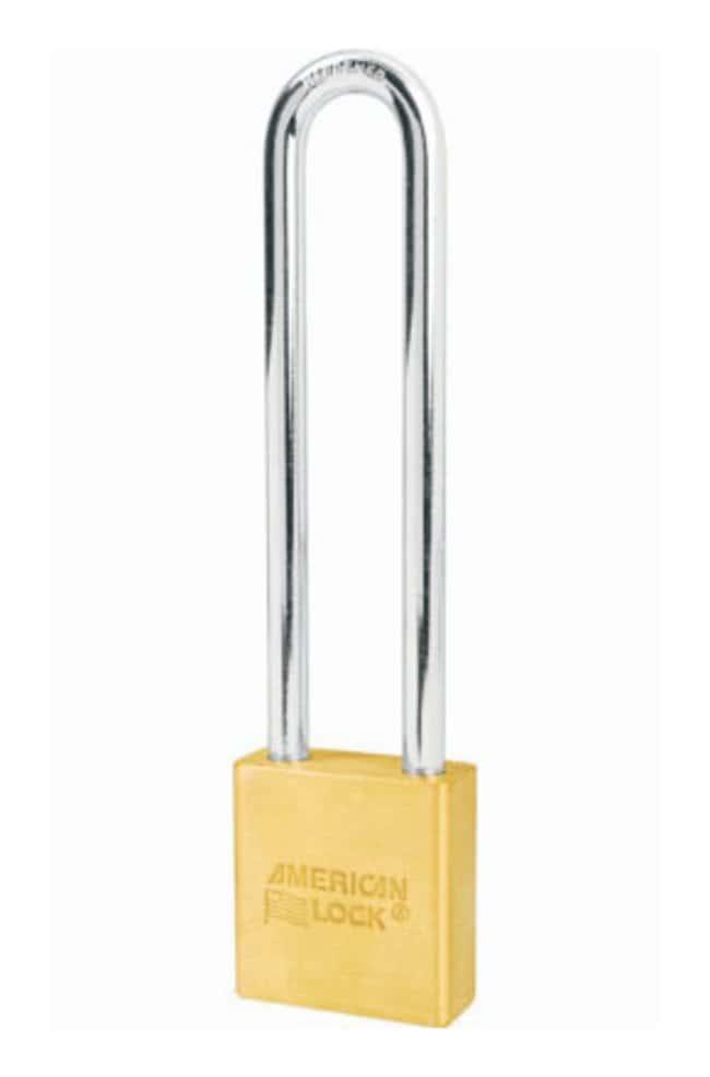 American Lock Rekeyable Padlocks 1.75 x 0.75 x 5 in.; Keyed alike:Gloves,