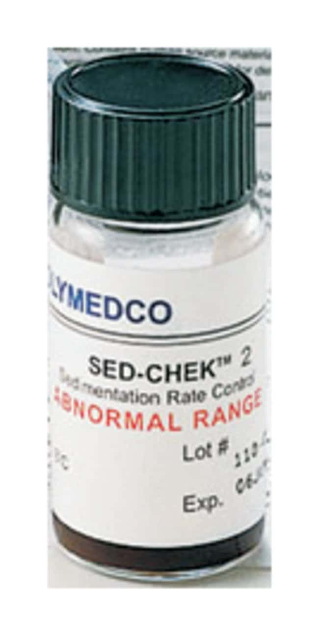 Polymedco SED-CHEK 2 ESR Controls Abnormal control:Diagnostic Tests and