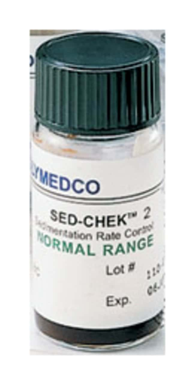 Polymedco SED-CHEK 2 ESR Controls Normal control:Diagnostic Tests and Clinical