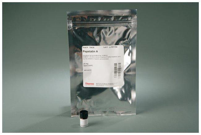 Thermo Scientific™Pierce™ Protease Inhibitors Pepstatin A; 25mg Thermo Scientific™Pierce™ Protease Inhibitors