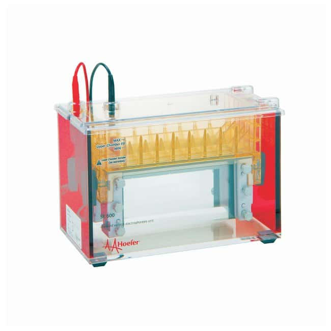 Hoefer™ SE640 Wide-Mini Vertical Electrophoresis Unit Wide-Mini Vertical Electrophoresis Unit, Basic Hoefer™ SE640 Wide-Mini Vertical Electrophoresis Unit