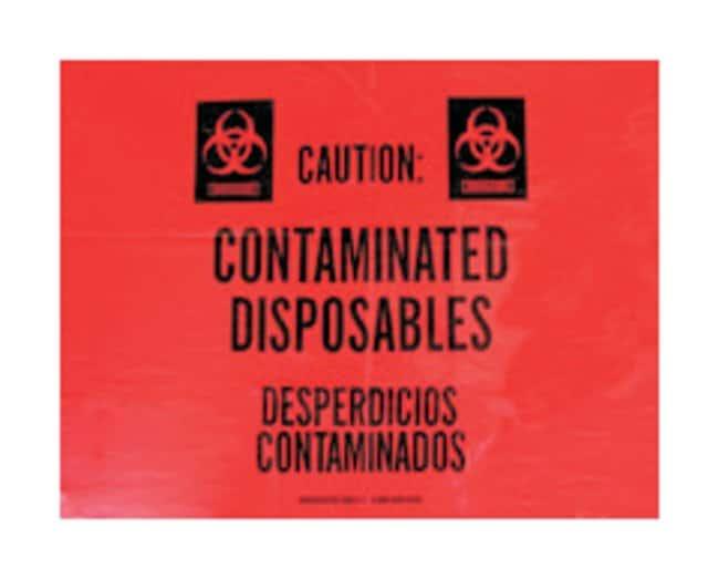 Associated Bag Biohazard/Infectious Waste Bag Liners Biohazard/Infectious