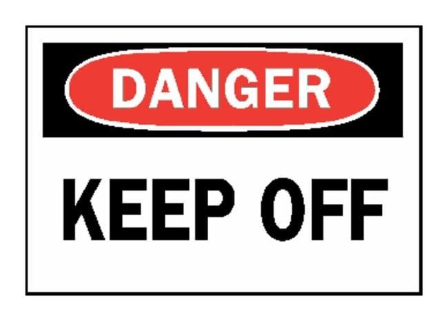 "Brady™""Danger: Keep Off"" Signs"