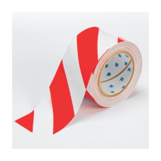 Brady™Bande de marquage au sol ToughStripe™ Largeur: 7,6cm (3po); Rouge/ blanc Brady™Bande de marquage au sol ToughStripe™