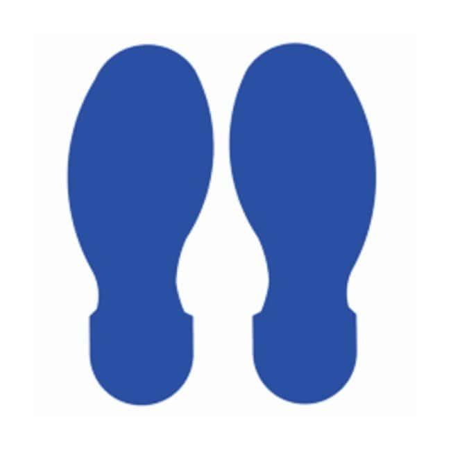 Brady™ToughStripe™ Polyester Floor Footprint Blue Brady™ToughStripe™ Polyester Floor Footprint