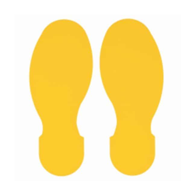 Brady™ToughStripe™ Polyester Floor Footprint Yellow Brady™ToughStripe™ Polyester Floor Footprint