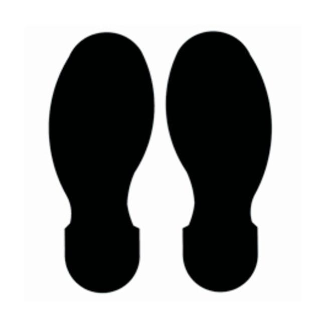 Brady™ToughStripe™ Polyester Floor Footprint Black Brady™ToughStripe™ Polyester Floor Footprint