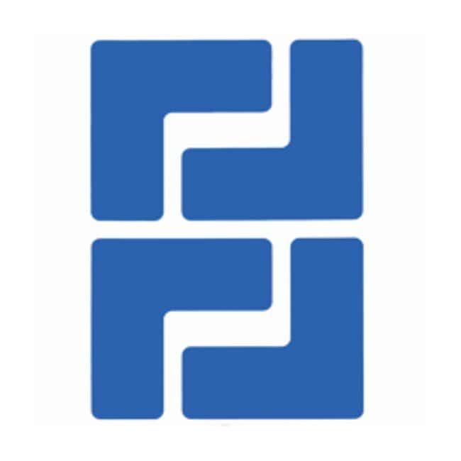 "Brady™ToughStripe™ Floor Marking Corner Marks ToughStripe Floor Marking Corner Marks; Blue; Size: 2 x 5 in.; Shape: ""L"" Brady™ToughStripe™ Floor Marking Corner Marks"