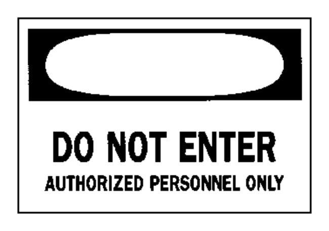 "Brady™""Danger: Do Not Enter..."" Signs"