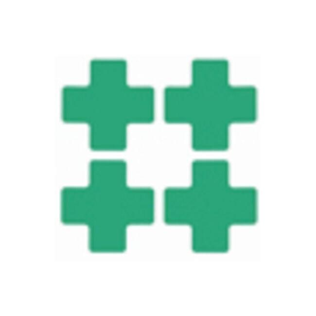 Brady™ToughStripe™ Floor Marking Center Marks Center Marks (Cross); 3 x 8 in.; Green Brady™ToughStripe™ Floor Marking Center Marks