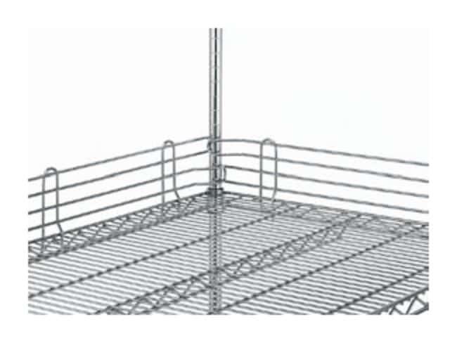 Metro™Super Erecta™ Wire Shelving Accessory, Shelf Ledge For wire shelf; Finish: Chrome; Height: 1 in. (2.5cm); Length: 72 in. (182.8cm) Metro™Super Erecta™ Wire Shelving Accessory, Shelf Ledge