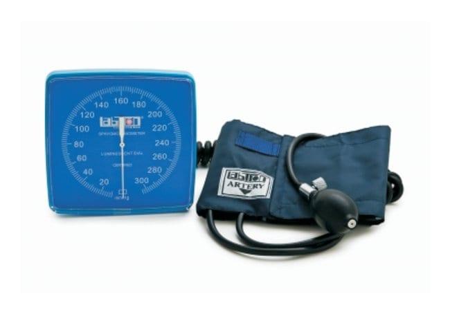 Graham-Field Wallmax Aneroid Sphygmomanometers Adult; Blue:Gloves, Glasses